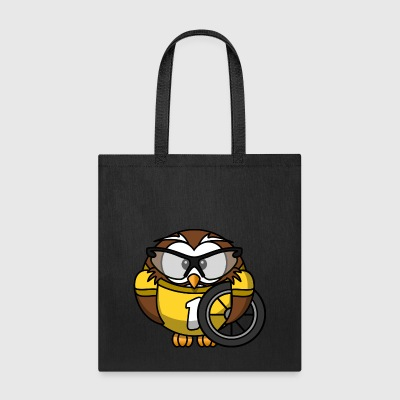 Iko the biker owl - Tote Bag
