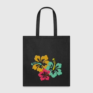 Caribbean Flowers - Tote Bag