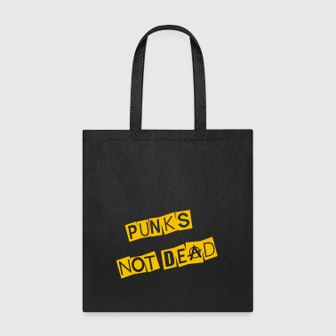 Punk Not Dead - Tote Bag