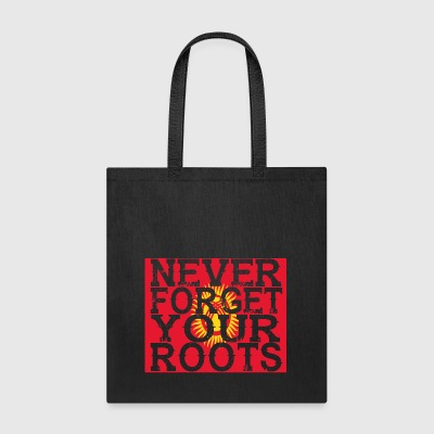 never forget roots home Kirgisistan - Tote Bag