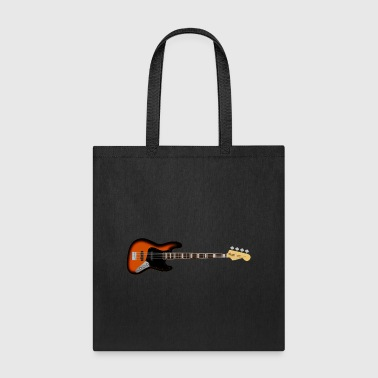bass guitar - Tote Bag