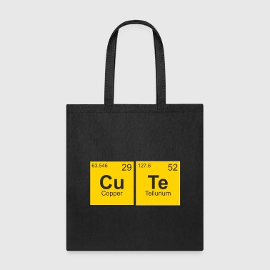 Cute chemistry science student - Tote Bag