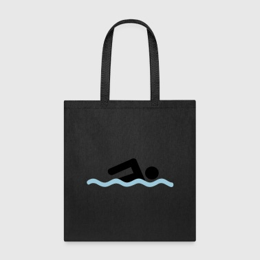 freestyle swimming - Tote Bag