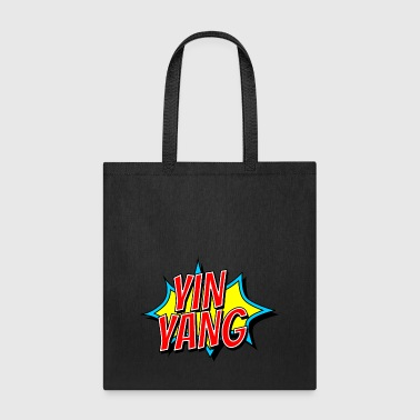 YIN YANG as a bang, funny opposite - Tote Bag