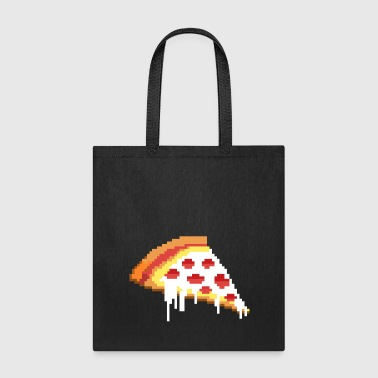 8-BIT PIZZA - Tote Bag