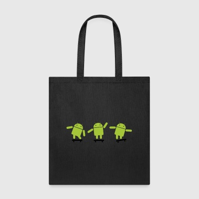 Android Skate - Tote Bag