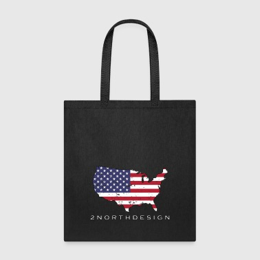 USA Map Design - Tote Bag