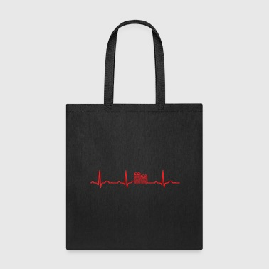 GIFT - POKER CHIPS RED - Tote Bag