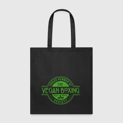 Vegan Boxing Athlete Society Club Member Gift - Tote Bag