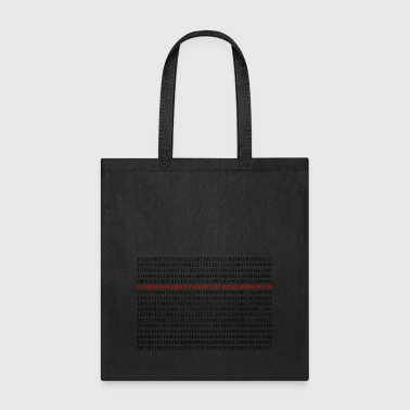 digital code - Tote Bag