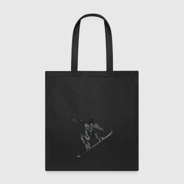 Snow Boarder - Tote Bag