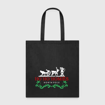 Ho Ho Homies Santa North Pole Christmas - Tote Bag