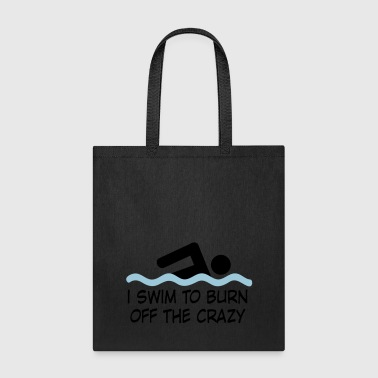 swimming - Tote Bag