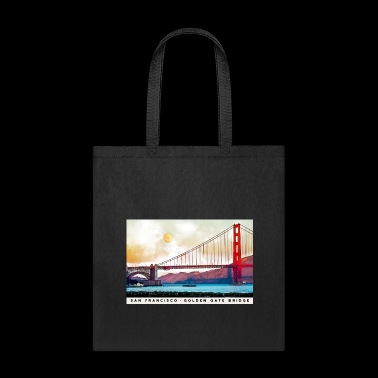 San Francisco Golden Gate Bridge - Tote Bag
