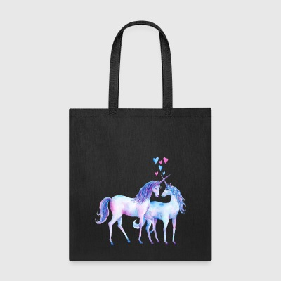 Loving Unicorn couple - Tote Bag