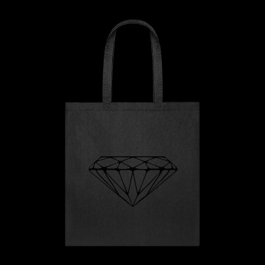 Tee shirt diamond diamant - Tote Bag