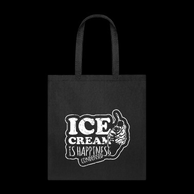 icecreamishappinesscondensed - Tote Bag