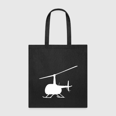 Helicopter Heli Chopper Aircraft Gift Idea - Tote Bag