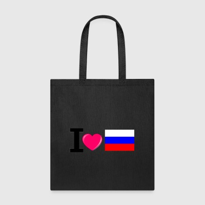 I love russia - Tote Bag