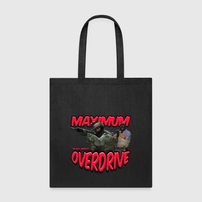MAXIMUM OVERDRIVE (CRAZYJACK411) - LOGO - Tote Bag