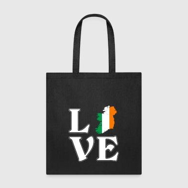 I love Ireland - Irish - traveling - Tote Bag