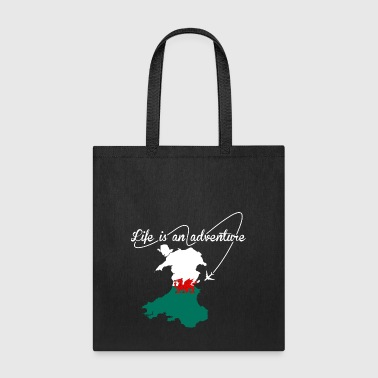 Welsh Life Is An Adventure - Tote Bag