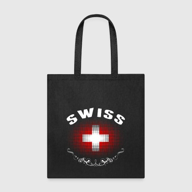 Swiss Flag Tshirt - Tote Bag