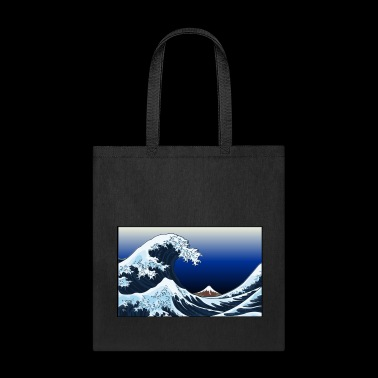 Neo-Art Under the Wave off Kanagawa - Tote Bag