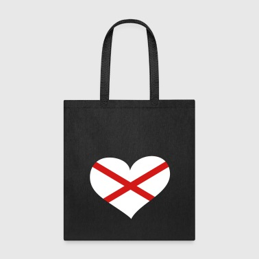 Northern Ireland Heart; Love Northern Ireland - Tote Bag
