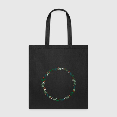 An evergreen wreath - Tote Bag