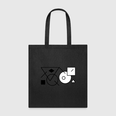 Shapes3 - Tote Bag