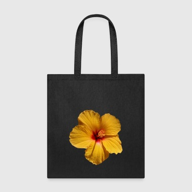 A Yellow Hibiscus - Tote Bag