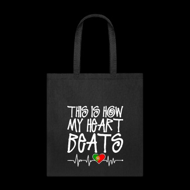 Portuguese Heart Beats - Tote Bag
