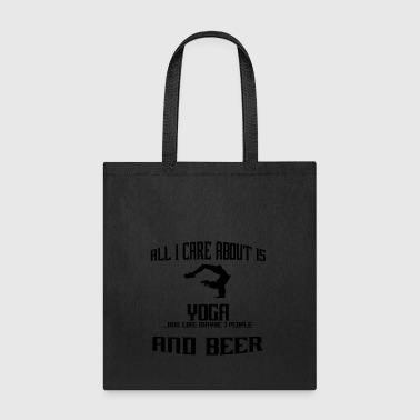 All i care about is yoga meditation turnen - Tote Bag