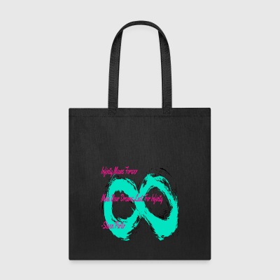 Infinity Quote Shirt | CreateMeInfinity - Tote Bag