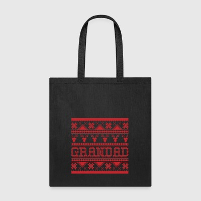 Christmas Ugly Xmas Sweater Grandad - Tote Bag