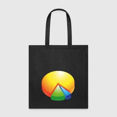 pie chart - Tote Bag