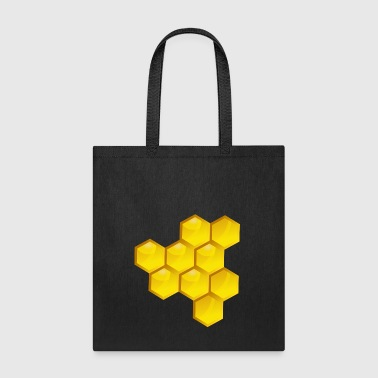 Honeycomb Honey Bee Keeper Gift Present - Tote Bag