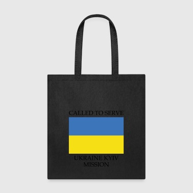 Ukraine Kyiv LDS Mission Called to Serve Flag - Tote Bag