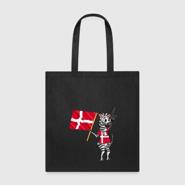 A Danish Zebra - Tote Bag