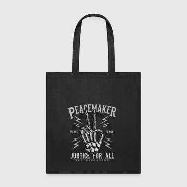 Peace Maker World Peace Justice T-shirt - Tote Bag