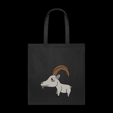 sweet little grey goat - Tote Bag