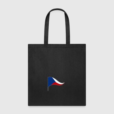 Czech Europa Prague Flags Banner Ensigns Flag - Tote Bag