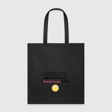 A hundred reasons to cry - Tote Bag