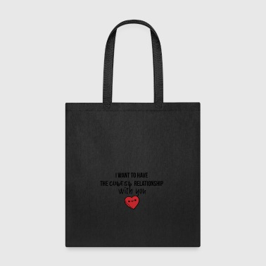 The cutest relationship - Tote Bag