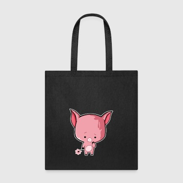 Sad Piggy - Tote Bag