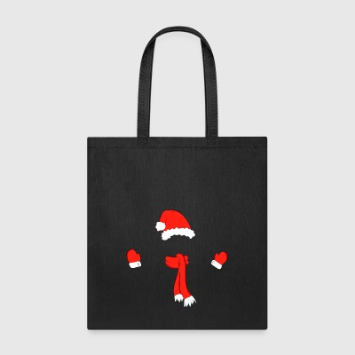 christmas hat scarf - Tote Bag