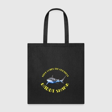 Daddy shark - Tote Bag