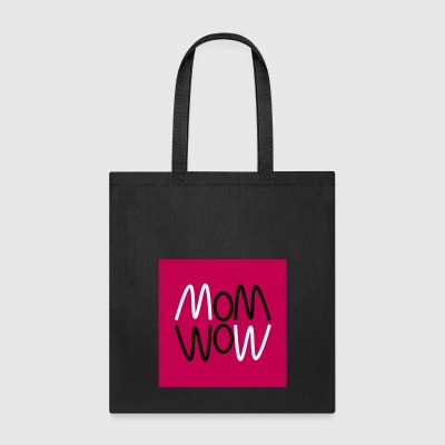 Curvy mom wow graphic - Tote Bag