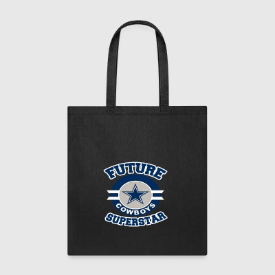 Future Cowboy Superstar Funny Texas Team Fan Tee - Tote Bag